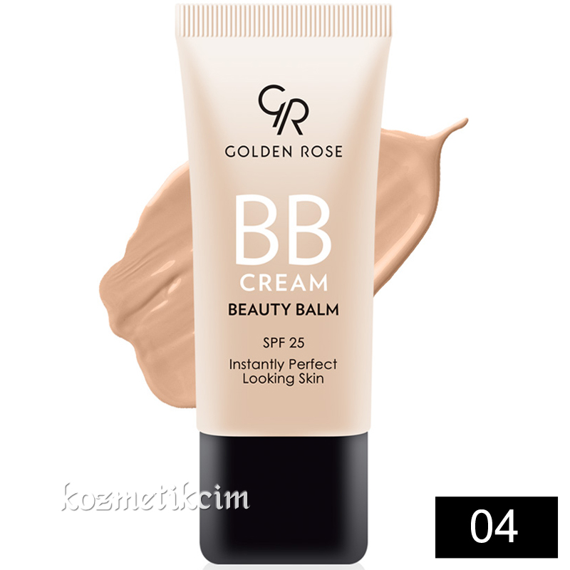 Golden Rose BB Cream Beauty Balm 04 Medium