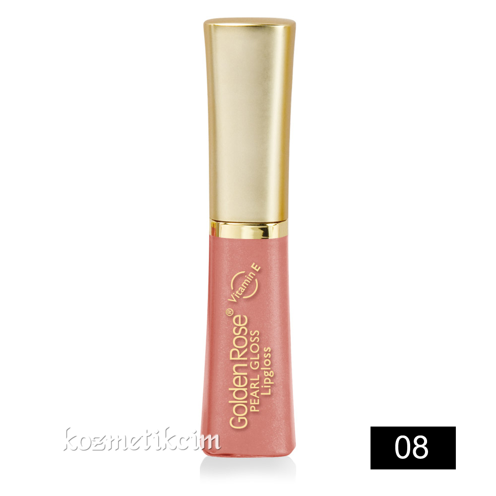Golden Rose Pearl Gloss Lipgloss 08