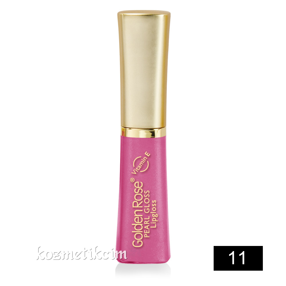 Golden Rose Pearl Gloss Lipgloss 11