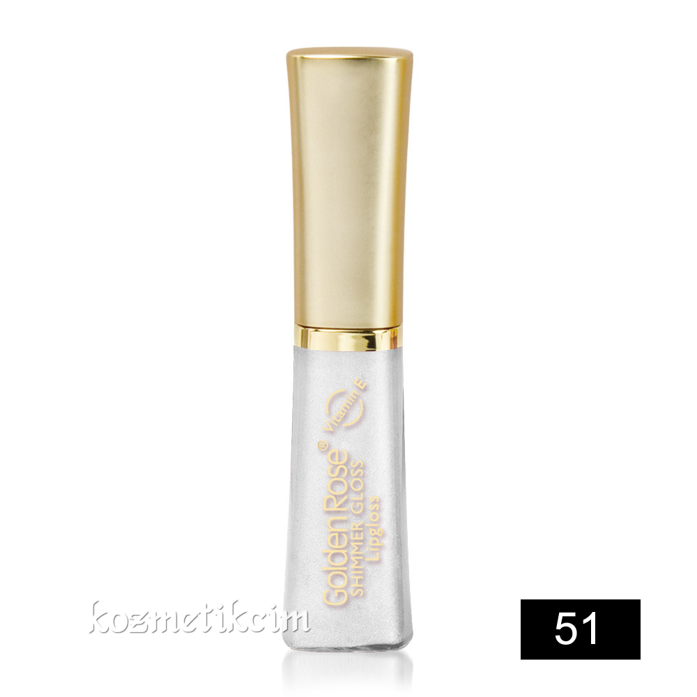 Golden Rose Shimmer Gloss Lipgloss 51