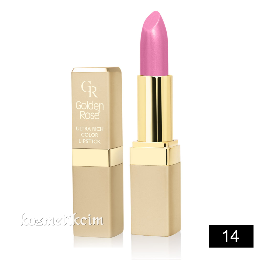 Golden Rose Ultra Rich Color Lipstick Ruj 14