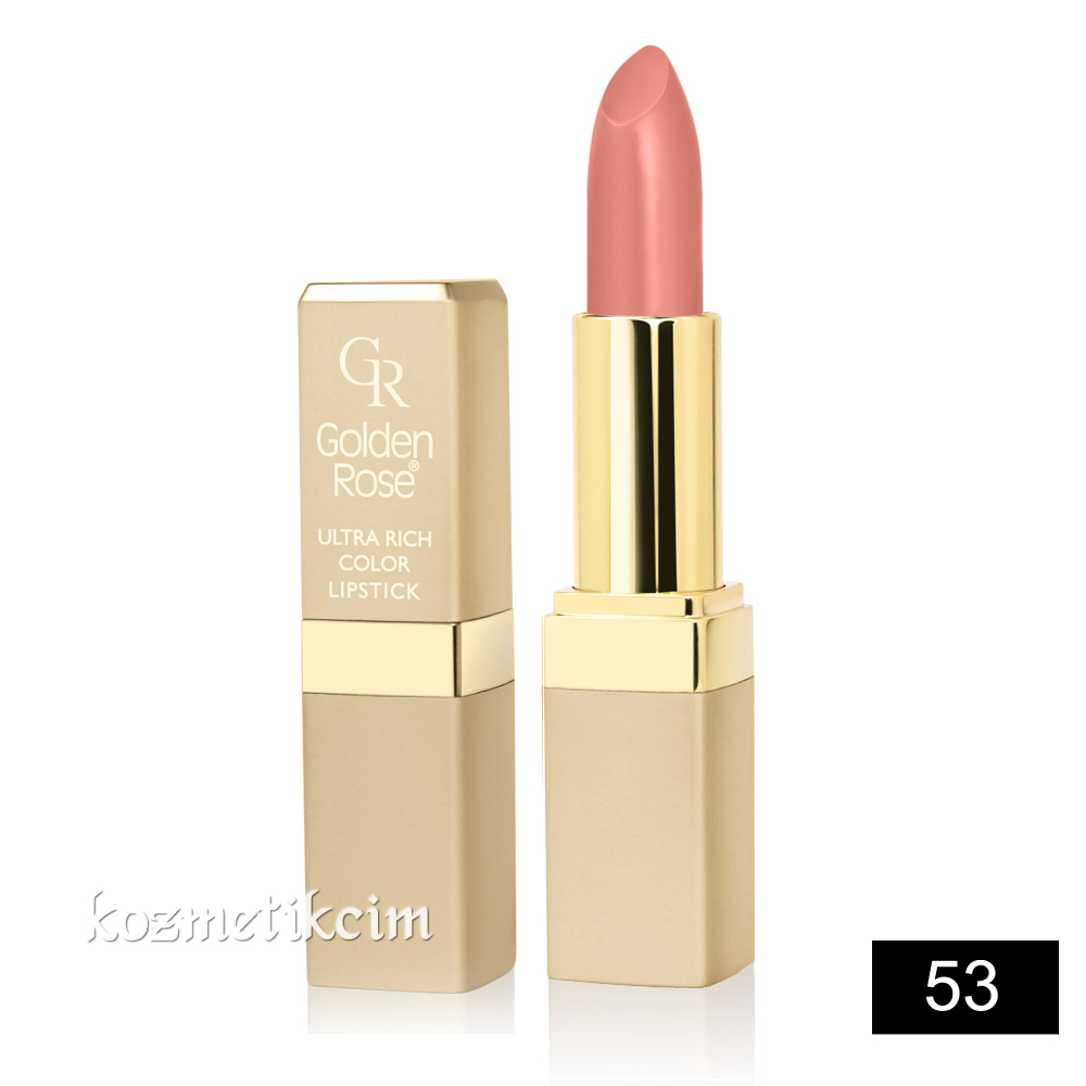 Golden Rose Ultra Rich Color Lipstick Ruj 53