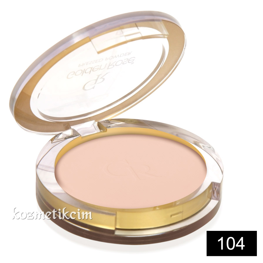 Golden Rose Pressed Powder Pudra 104
