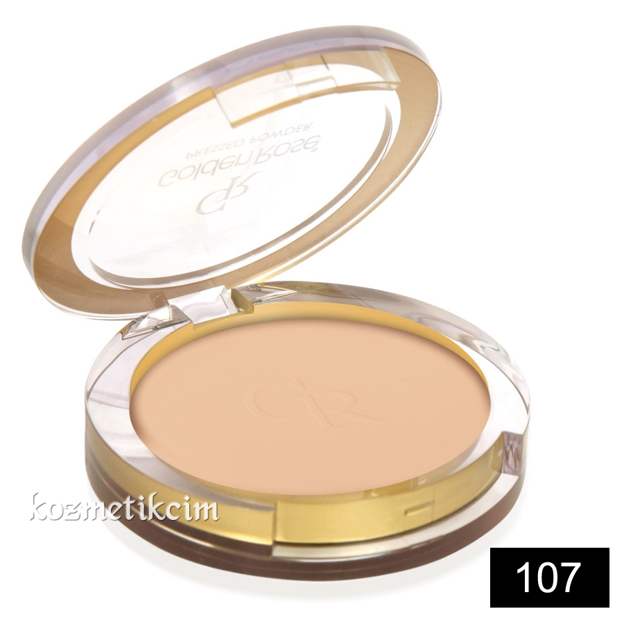 Golden Rose Pressed Powder Pudra 107