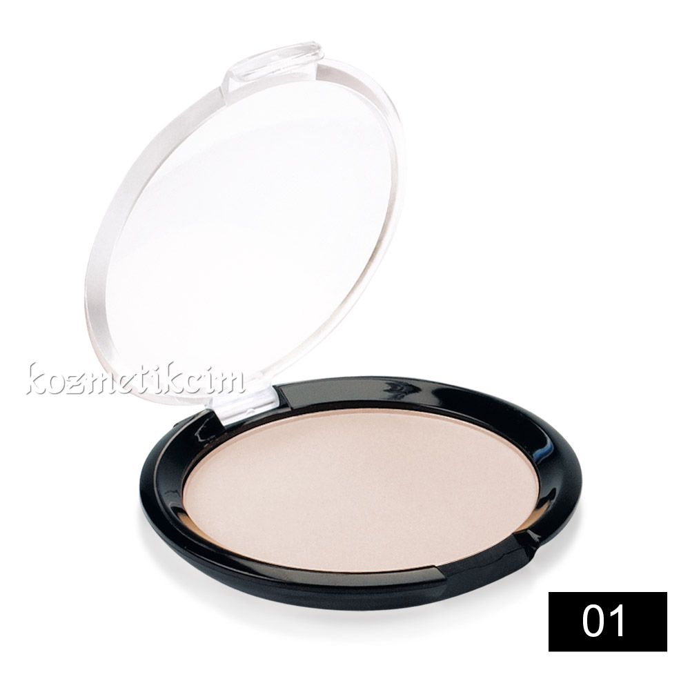 Golden Rose Silky Touch Compact Powder Pudra 01