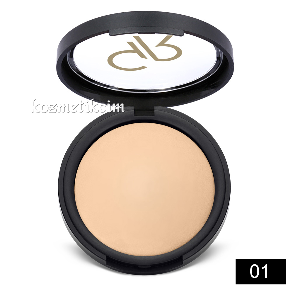 Golden Rose Mineral Terracotta Powder Pudra 01