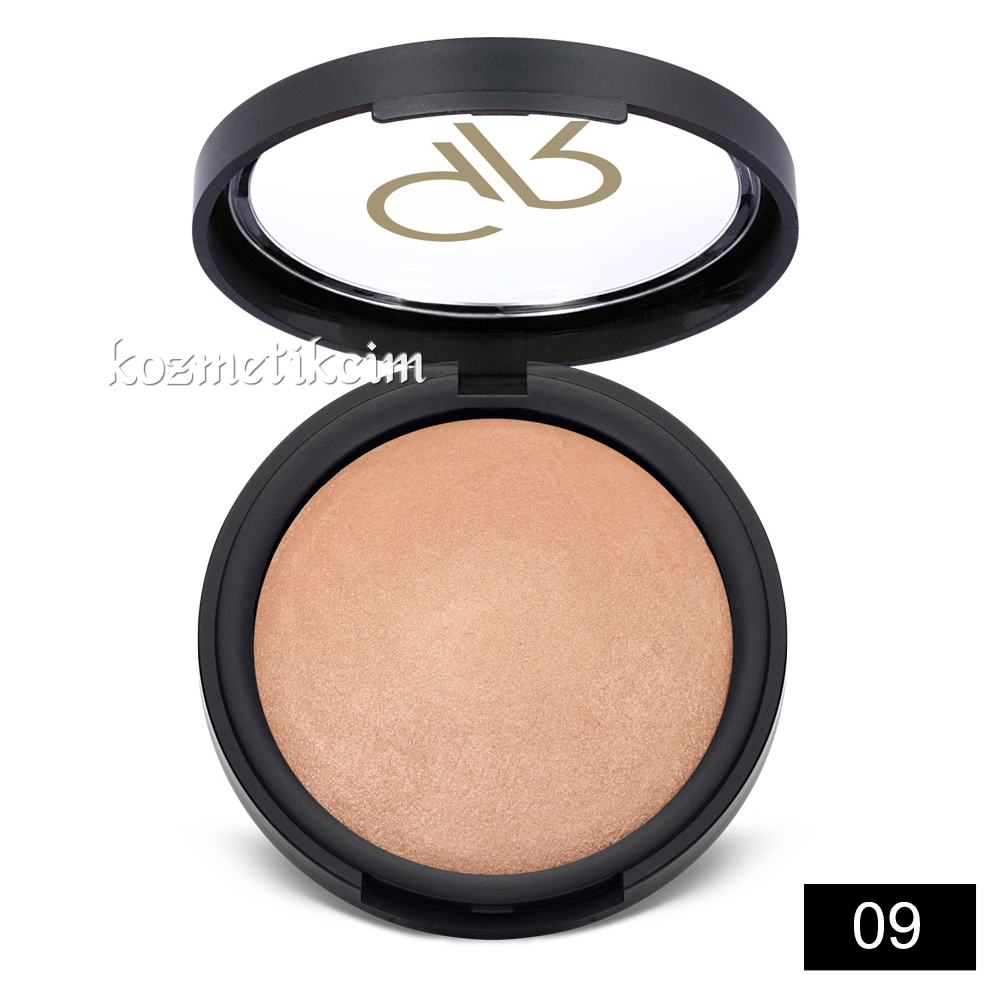 Golden Rose Mineral Terracotta Powder Pudra 09