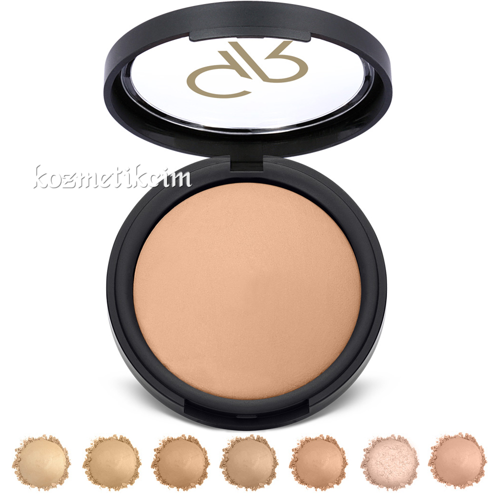 Golden Rose Mineral Terracotta Powder Pudra