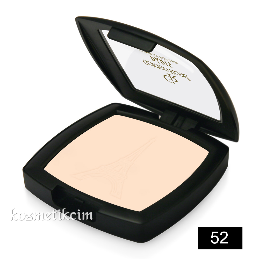 Golden Rose Paris Compact Powder Pudra 52