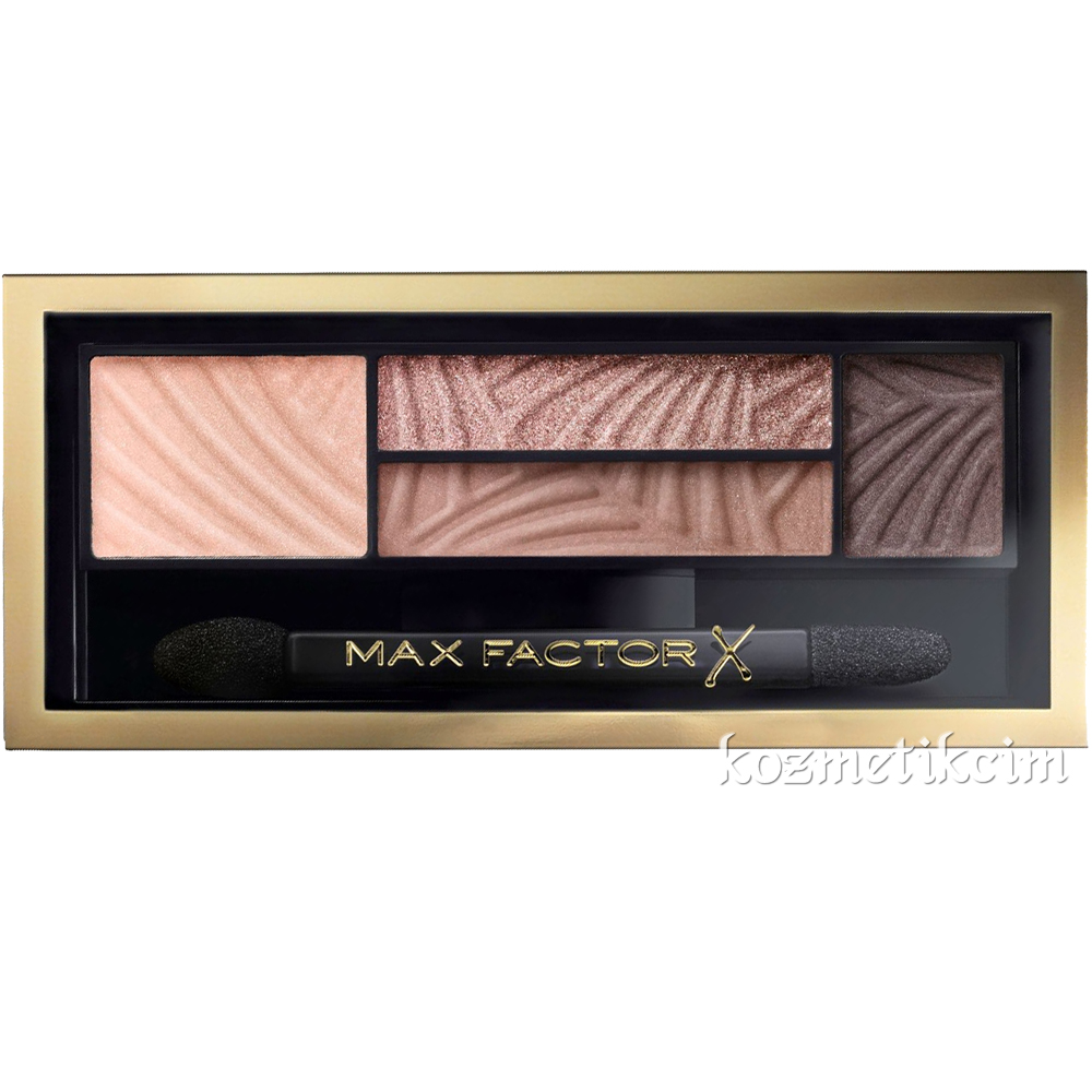 Max Factor Smokey Eye Drama Kit 4'lü Far 01 Opulent Nudes