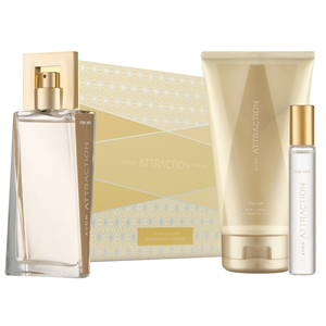 AVON Attraction EDP 50 ml Kadın Parfüm Seti