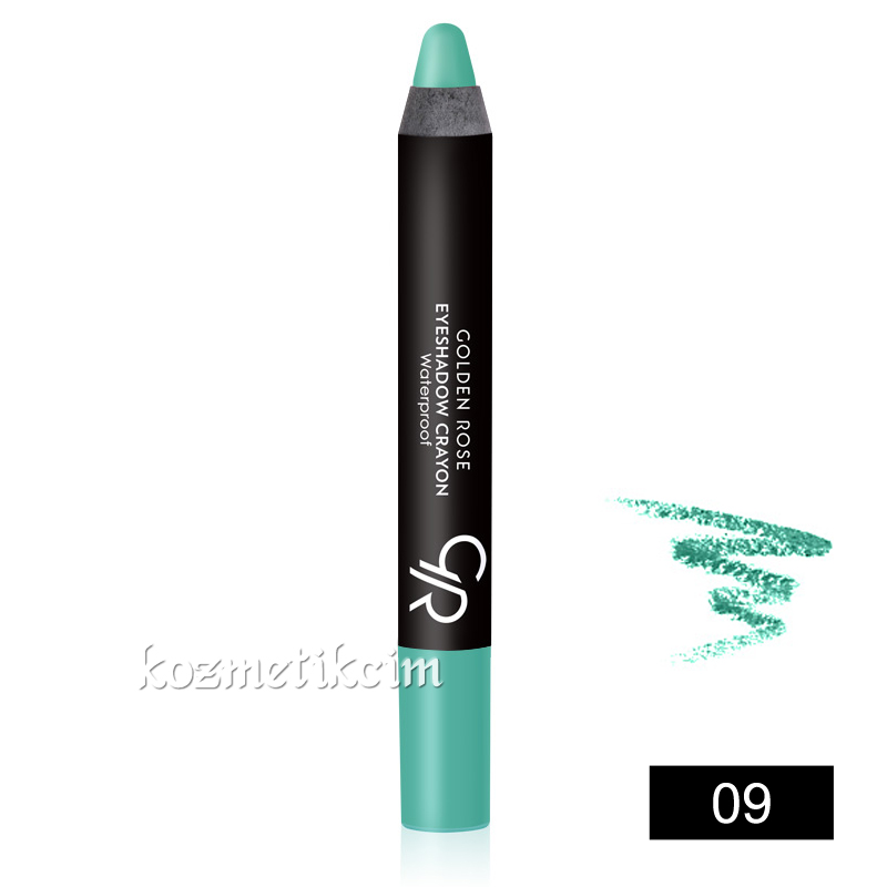 Golden Rose Eyeshadow Crayon Waterproof Kalem Far 09