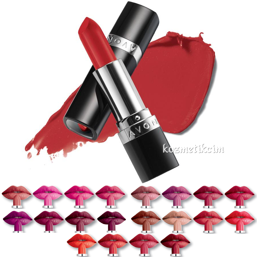 Avon True Colour Perfectly Mat Ruj Marvelous Mocha Kozmetikcim
