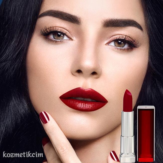 Maybelline Color Sensational Lipstick 547 Pleasure Me Red Mervenin