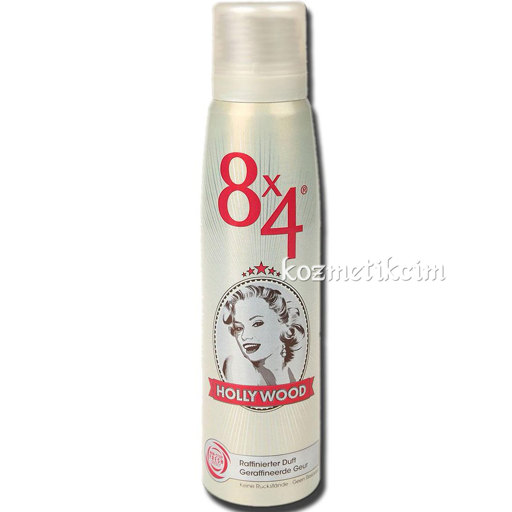 8x4 Hollywood Deodorant 150 ml