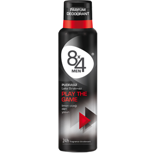 8x4 Men Play The Game Deodorant 150 ml