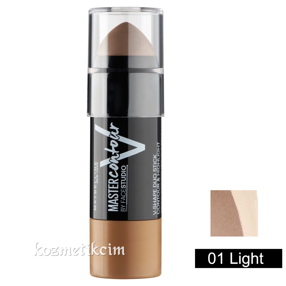 Maybelline Master Contour V-Shape Duo Stick 01 Light