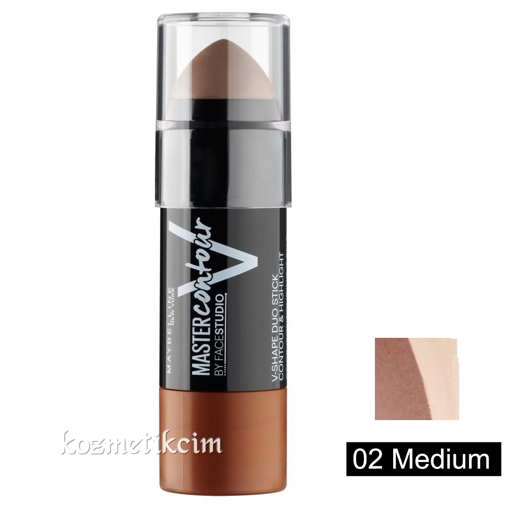 maybelline contour stick how to use