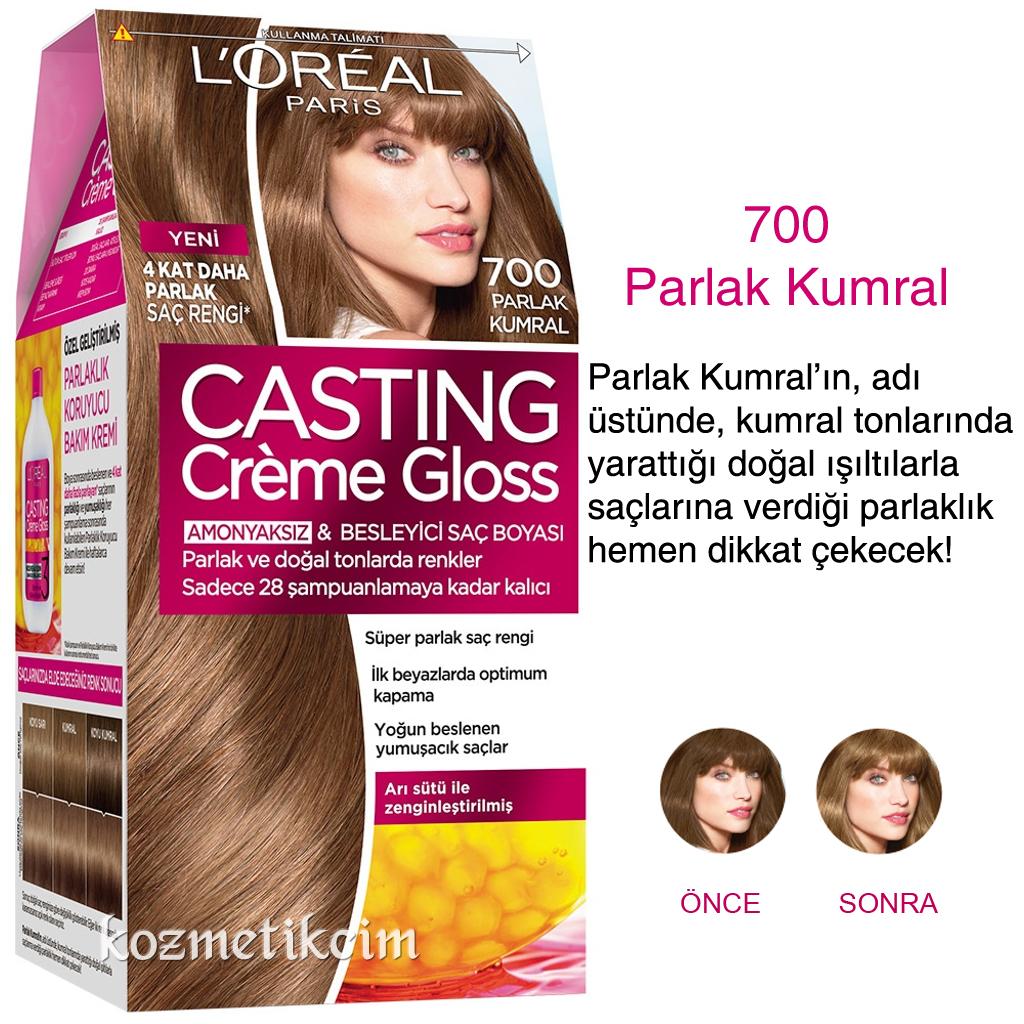 Loréal Casting Créme Gloss Amonyaksız Ve Besleyici Saç Boyası 700