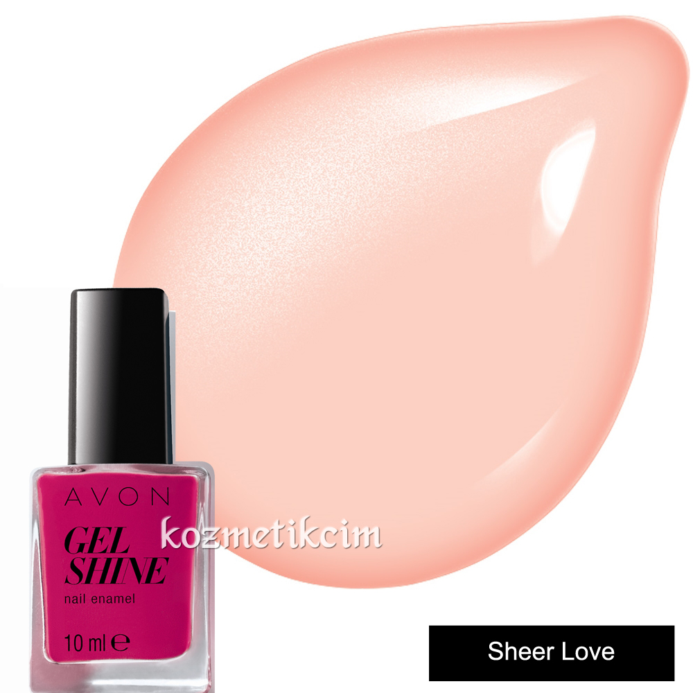 AVON Gel Shine Tırnak Cilası - Oje Sheer Love