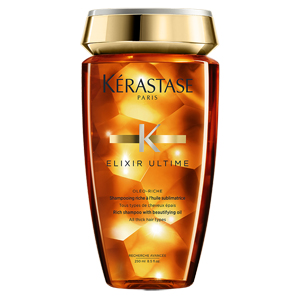 Kérastase Paris Elixir Ultime Bain Rich Shampoo with Beautifying Oil Saç Banyosu 250 ml