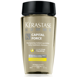 Kérastase Paris Homme Capital Force Enerji Veren Saç Banyosu 250 ml