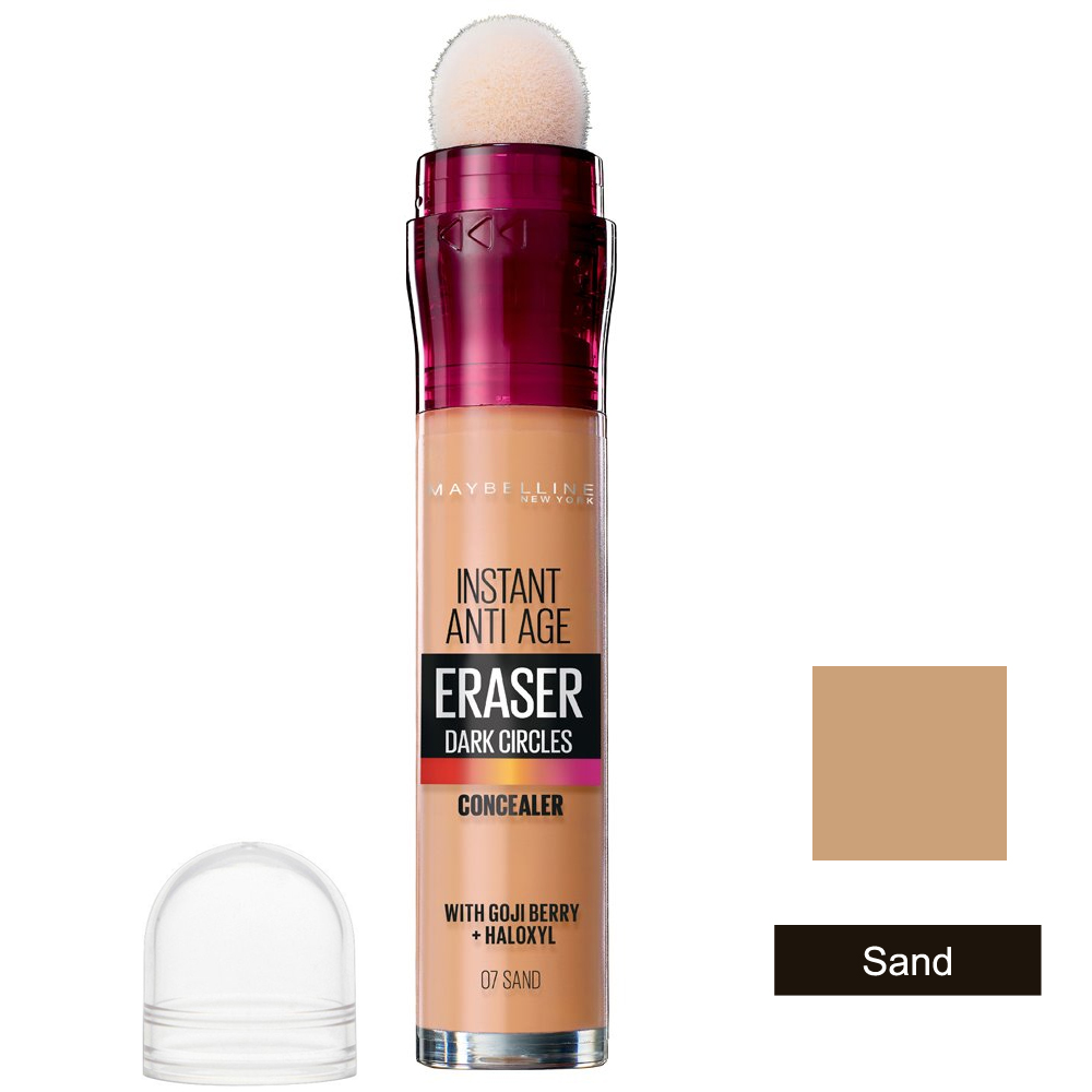 Maybelline Instant Anti-Age The Eraser Eye Perfect & Cover Concealer Sand