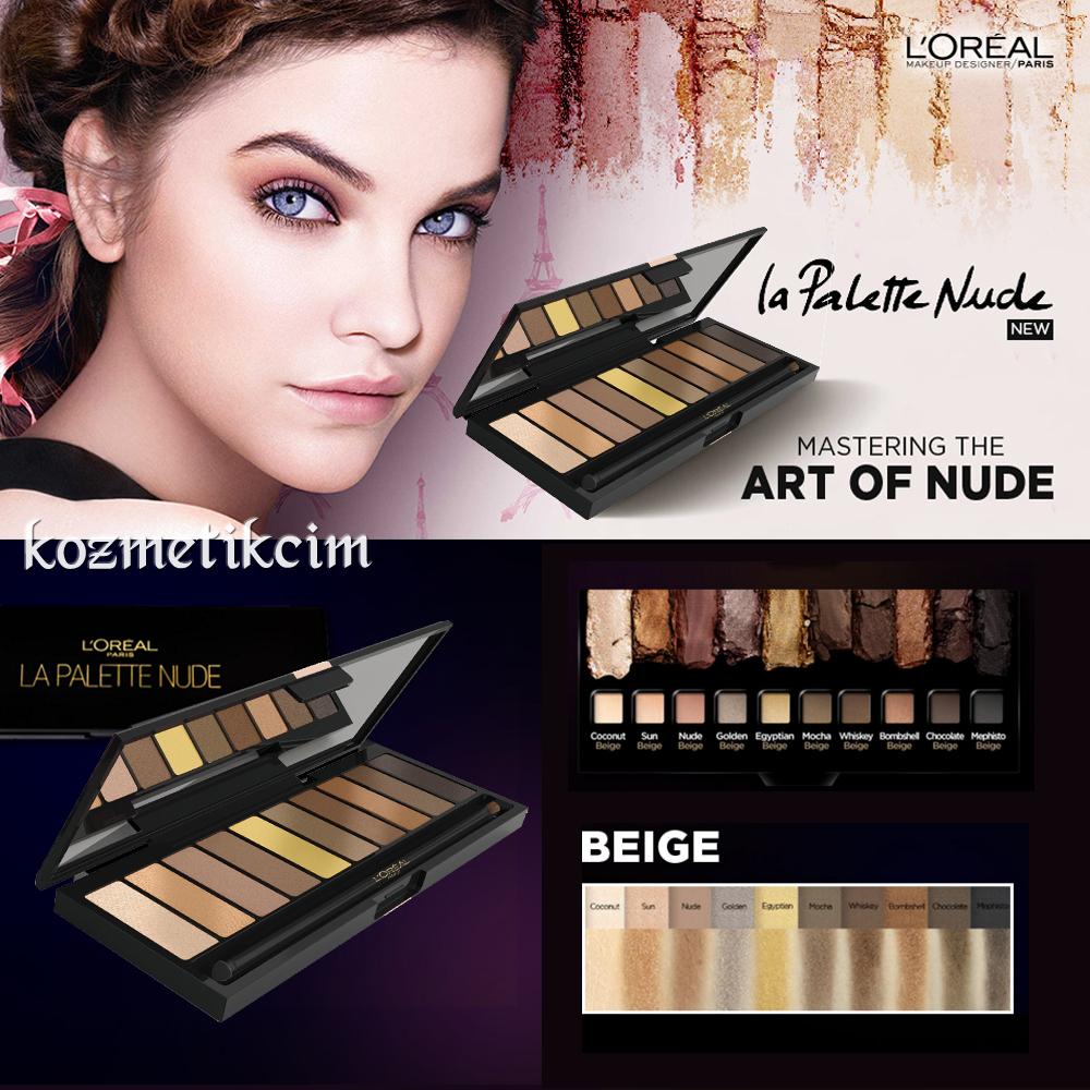 Order LOreal Paris La Palette Nude Eyeshadow, 02 Beige