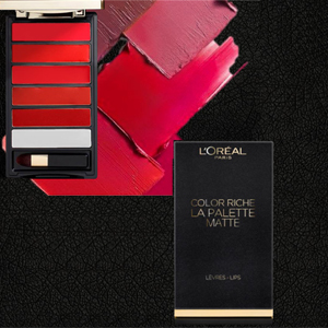 L'Oréal Color Riche La Palette Lip Matte Bold