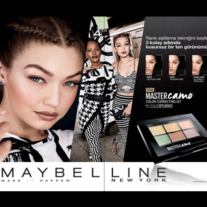 Maybelline Master Camo Color Correcting Renk Eşitleyici Kit