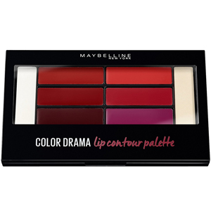Maybelline Color Drama Lip Contour Palette Crimson Vixen