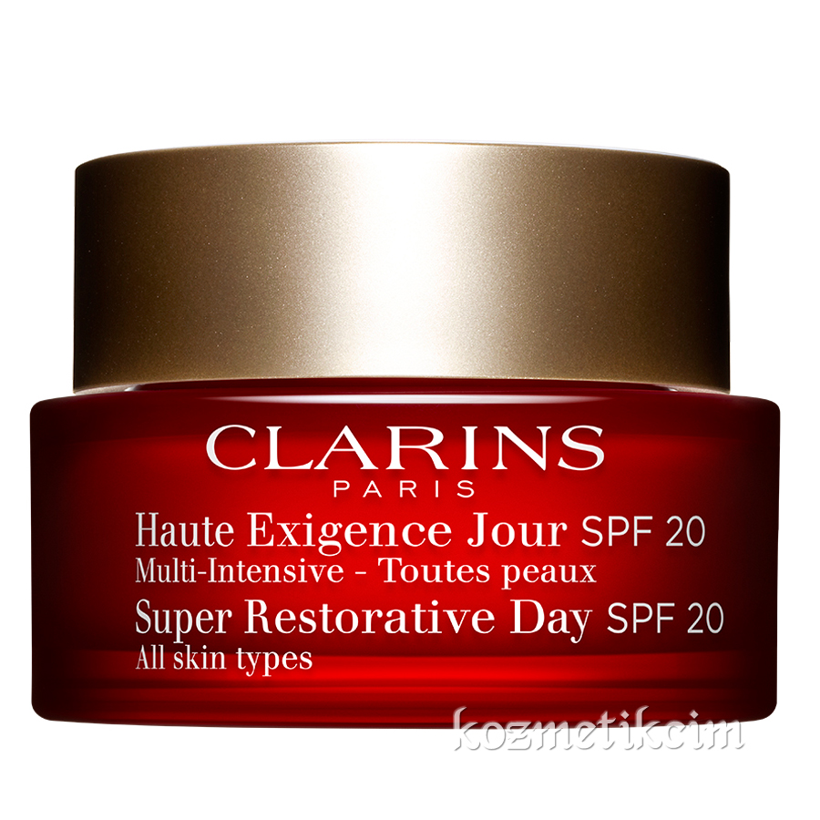 Clarins Super Restorative Day Cream SPF 20 50 ml Tüm Ciltler İçin