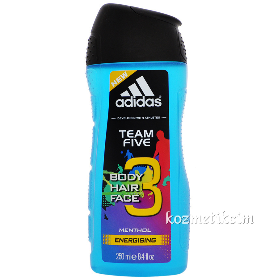 Adidas Team Five Üçü Bir Arada Duş Jeli 250 ml
