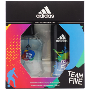 Adidas Team Five Edt 100 ML + Deo 150 ml Erkek Set