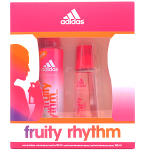 Adidas Fruity Rhythm  Edt 50 ML + Deo 150 ml Kadın Set