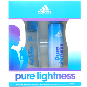 Adidas Pure Lightness Edt 50 ML + Deo 150 ml Kadın Set