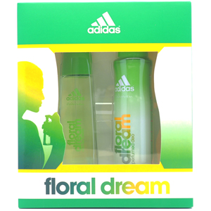Adidas Floral Dream Edt 50 ML + Deo 150 ml Kadın Set