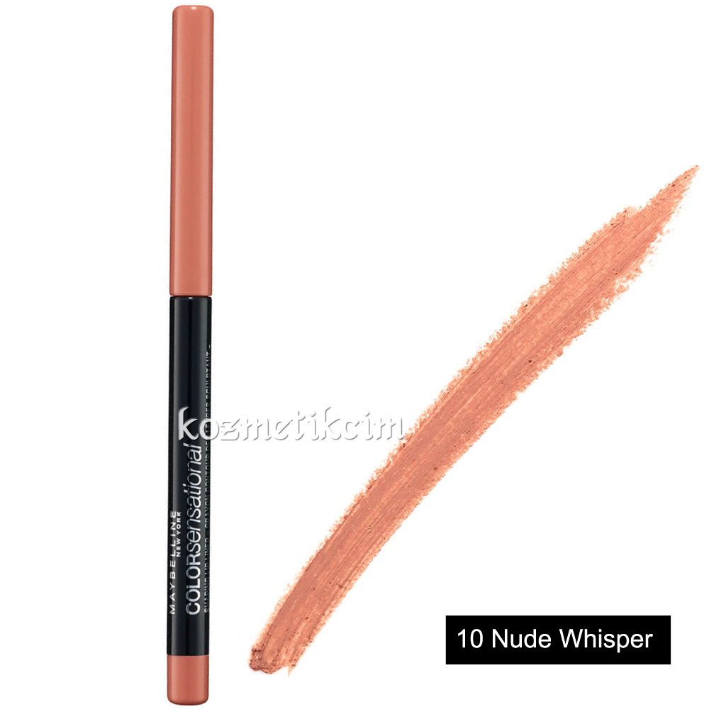 Maybelline Color Sensational Shaping Lipliner Asansörlü Dudak Kalemi 10 Nude Whisper