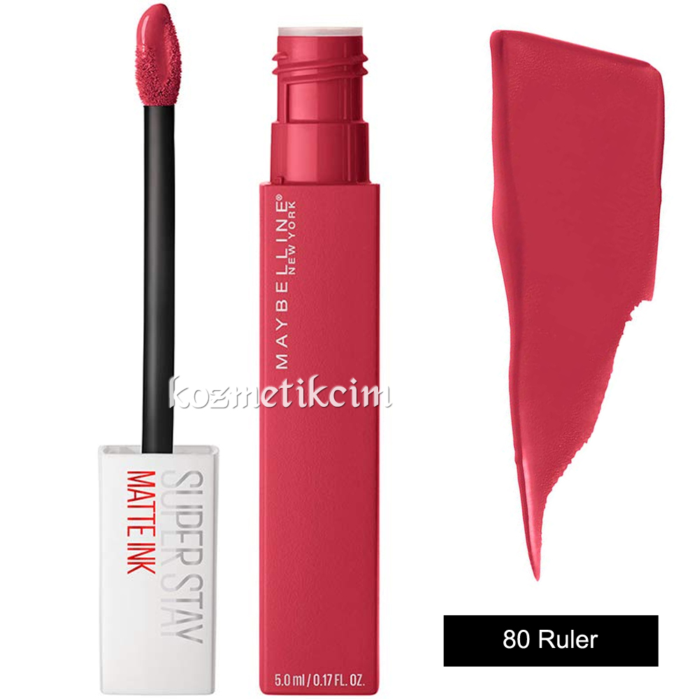Maybelline Superstay Matte Ink Liquid Lipstick 80 Ruler
