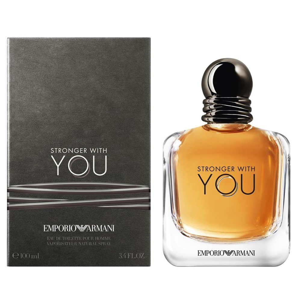 Armani Stronger With You Edt Erkek Parfümü 100 ml
