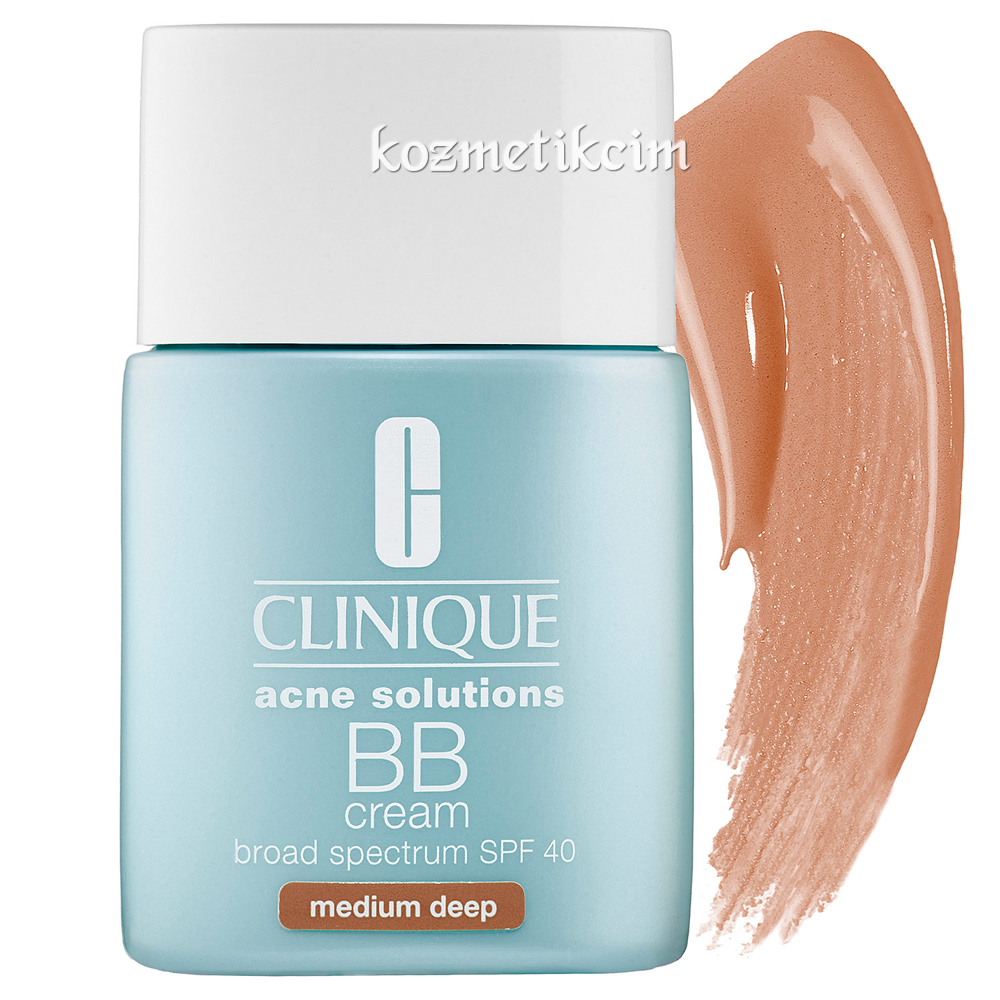 Clinique Anti Blemish Solutions BB Cream Broad Spectrum SPF 40 Medium Deep