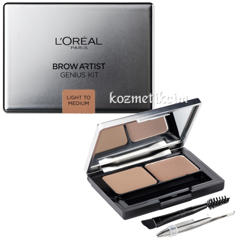 L'Oréal Brow Artist Genius Kit Light To Medium
