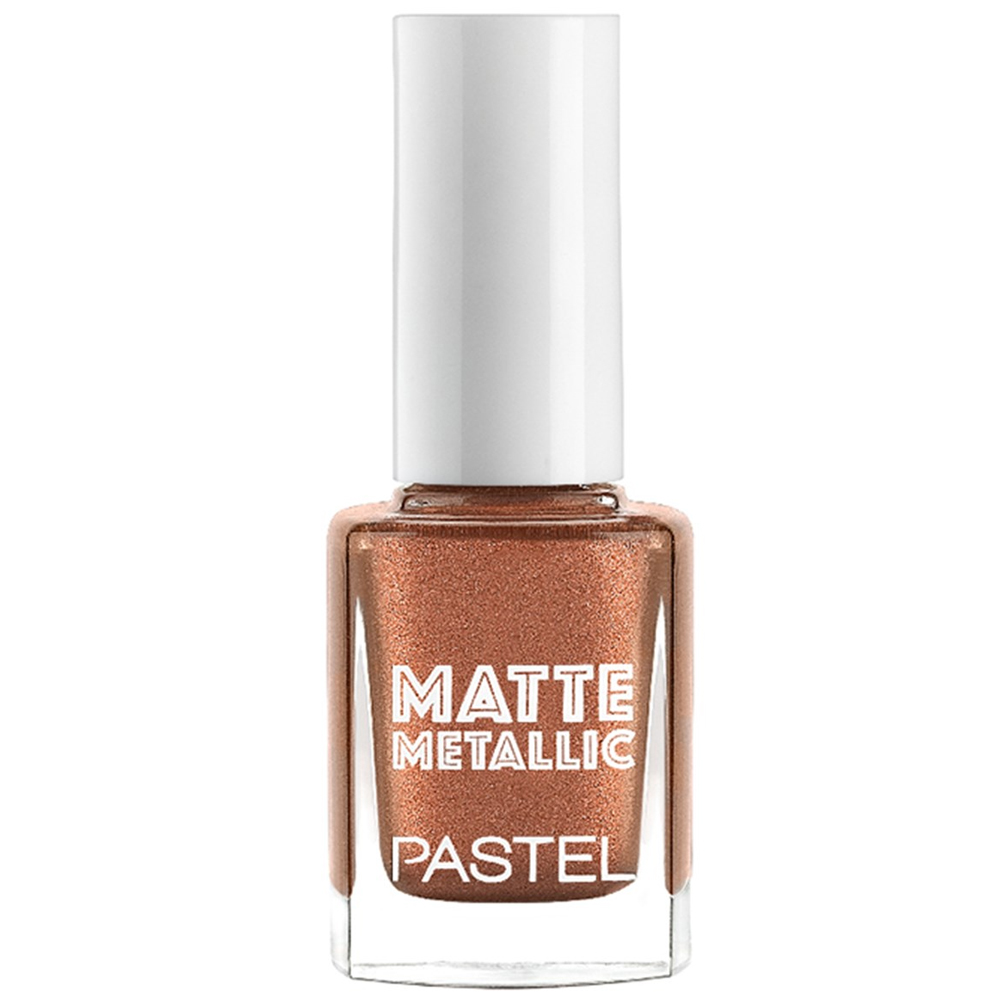 Pastel Matte Metallic Nail Polish 505 Golden Age