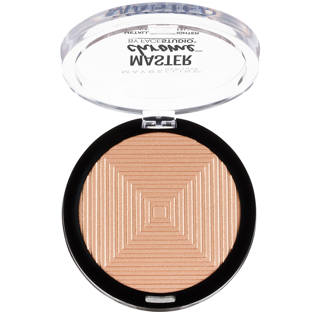Maybelline Facestudio Master Chrome Metallic Highlighter Metalik Aydınlatıcı 100 Molten Gold