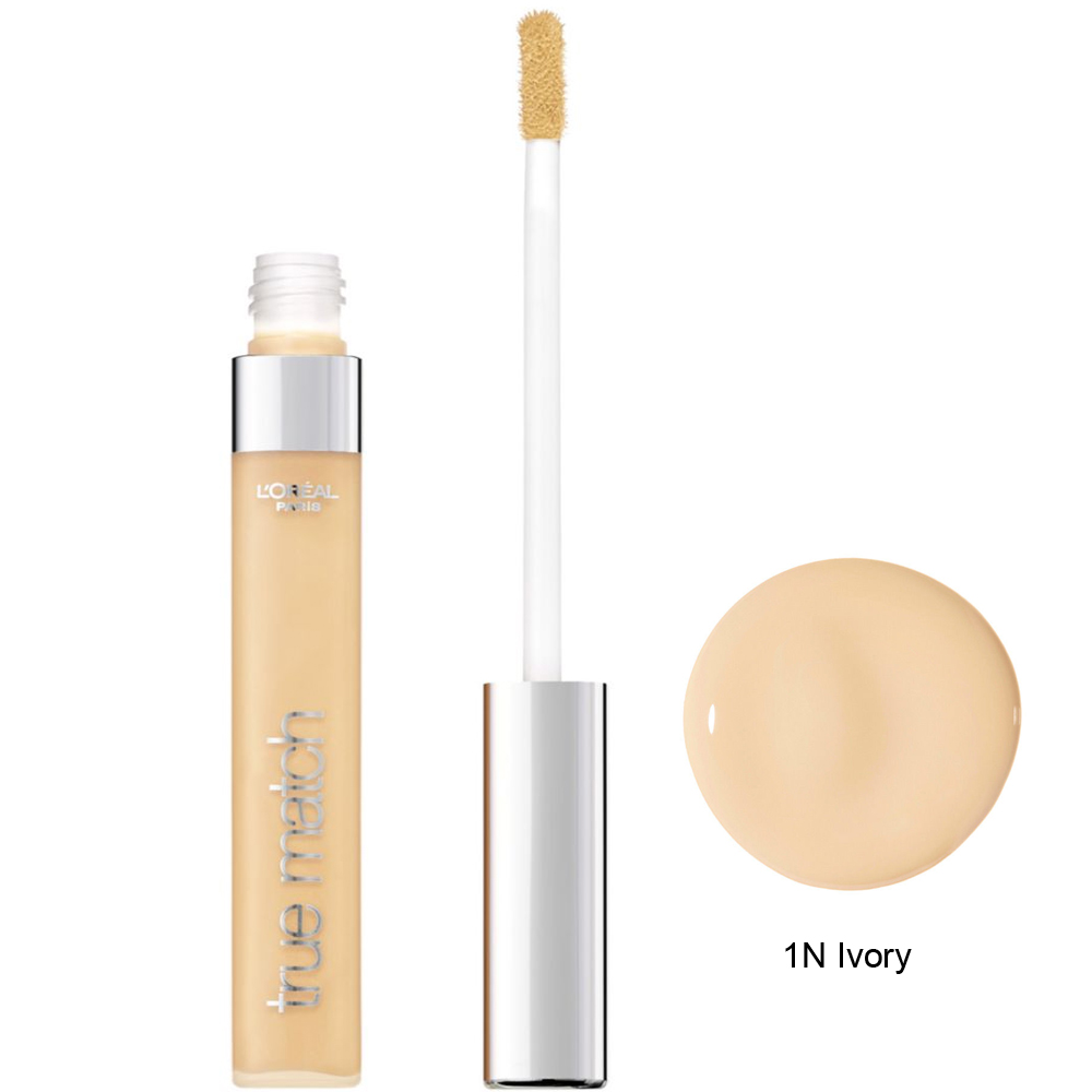 LOreal Paris True Match Concealer Kapatici 1N Ivory