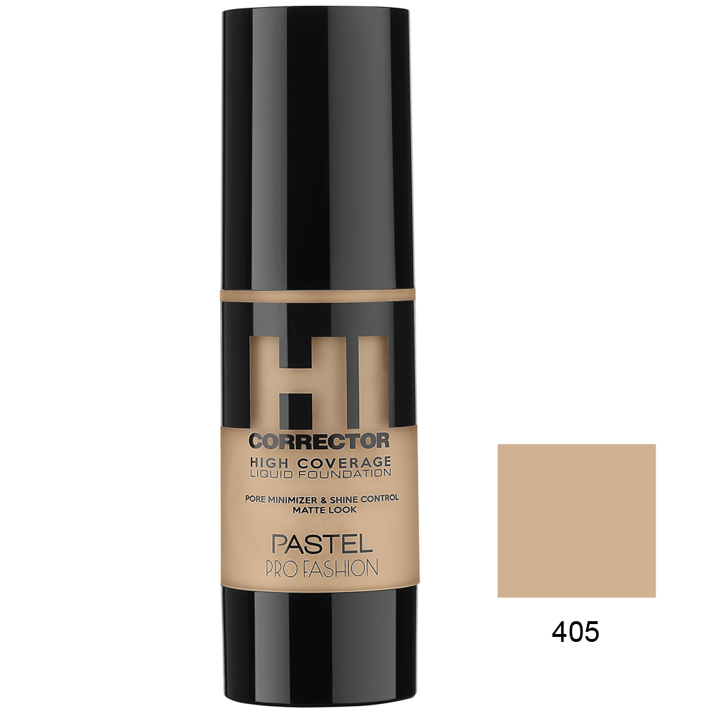 Pastel HI Corrector High Coverage Liquid Foundation 405