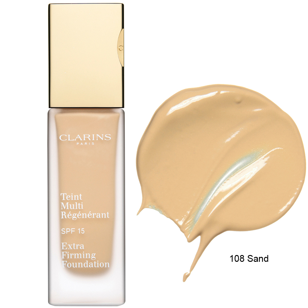 Clarins Extra Firming Foundation SPF 15 108 Sand