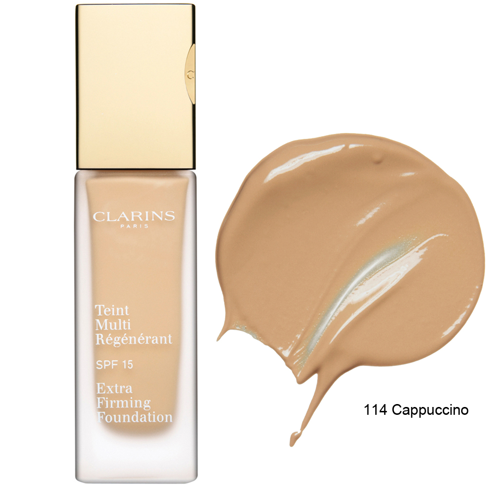 Clarins Extra Firming Foundation SPF 15 114 Cappuccino