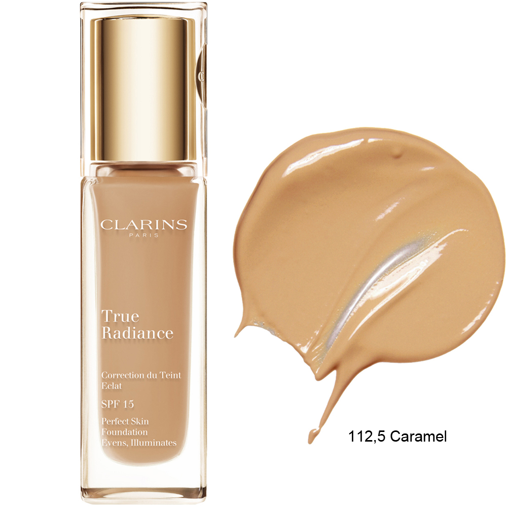 Clarins True Radiance Foundation SPF 15 112,5 Caramel