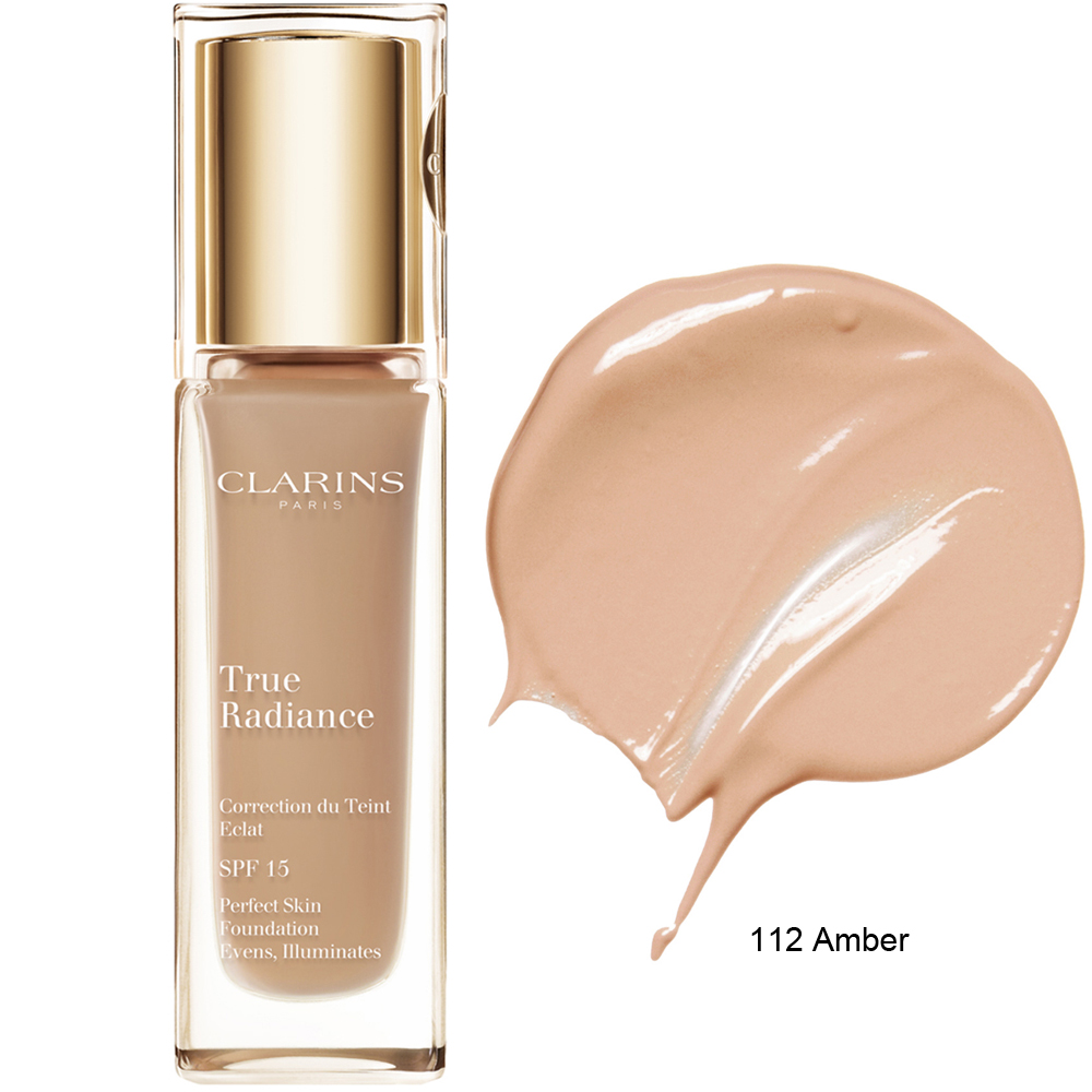 Clarins True Radiance Foundation SPF 15 112 Amber